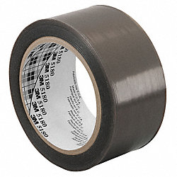 Film Tape, Skived PTFE, Gray, 12 In x 36 Yd