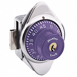 Built In Locker Lock, Purple
