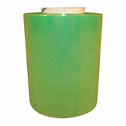 Hand Stretch Wrap, Green, 650 ft, 5In W, PK4