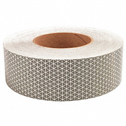 Reflective Tape, W 2 In, White