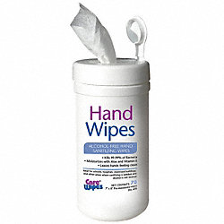 Hand Sanitizing Wipes, Soapy, White