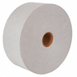 Carton Tape, White, 3 In. x 450 Ft., PK10