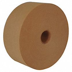 Carton Tape, Natural, 3 In. x 125 Yd., PK8
