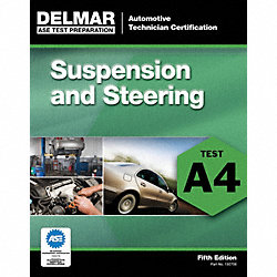 Textbook, ASE Test Prep, Suspensn/Steering