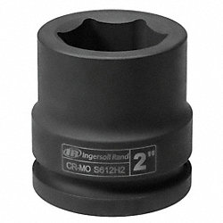 Impact Socket, 1-1/2 In Dr, 2-5/8 In, 6 Pt