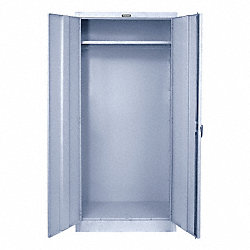 Wardrobe Storage Cabinet, Light Gry