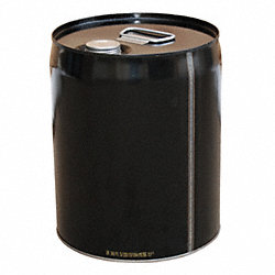 Steel Pail, 5 gal, Closed-Head, Screw Cap