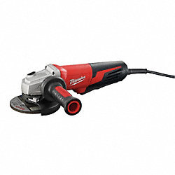 Angle Grinder, 6 In, Paddle w/Lock On
