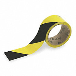 Warning Tape, Roll, 2In W, 54 ft. L