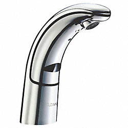 Electronic Lav Faucet, 6-7/8In Spout, 6VDC