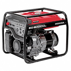 Portable Generator, Rated Watts4500, 389cc
