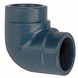 Elbow, 90 Deg, 1/2 In, Slip Socket, CPVC