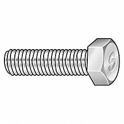 Wave Thread Cap Screw, 1/2-13x2, Pk 25