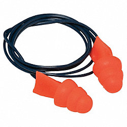 Ear Plugs, 27dB, Corded, Met Det, Univ, PR