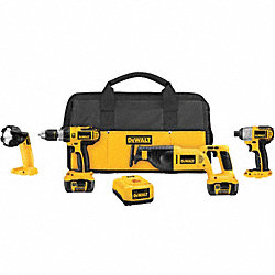 Cordless Combination Kit, Li-Ion, 18.0V