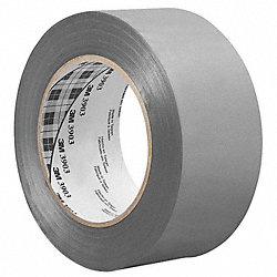 Duct Tape, 1 x 50 yd, 6.3 mil, Gray, Vinyl