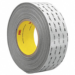 VHB Tape, 12 In x 18 yd., Gray