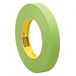 Masking Tape, Green, 1/8 In. x 60 Yd.