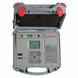 AC and Battery Megohmmeter, 10, 000VDC