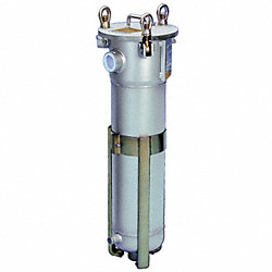 Filter Housing, 2In NPT, 90GPM, 304L SS