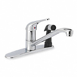 Kitchen Faucet, One Handle, Chrome
