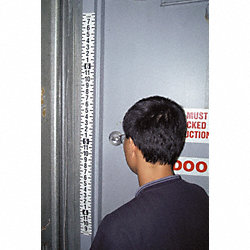 Security Ht Ruler Tape, 44-88 in