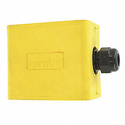 Portable Outlet Box, Pendant, 1 Gang, Yw