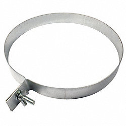 Duct Hanger, Round, 6 In, 20 Gauge Steel