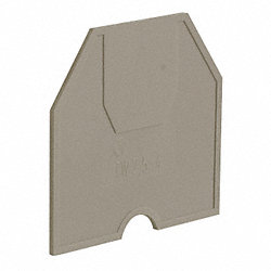 Partition Plate, Nylon, Gray