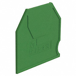 Grounding Block End Barrier, Nylon