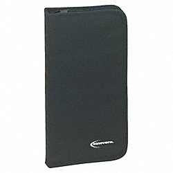 CD/DVD Wallet, Holds 48 Discs, Black