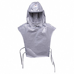 Versaflo(TM)  Replacement Hood, Gray, PK 5