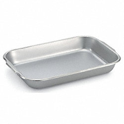 Bake/Roast Pan, Stainless Steel, 6-1/2 Qt.