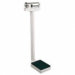 Physician Scales, SS Pltfrm, 405 lb. Cap.