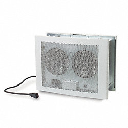 Axial Fan, 100 to 230VAC, 14-1/2In H