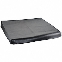 Surface Plate Cover, Black Vinyl, 24x36 In