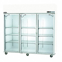 Refrigerator, Pass Thru, 85 CF, Glass Door