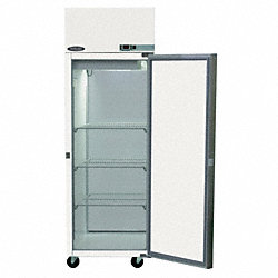 Refrigerator, Pass Thru, 25 CF, Solid Door