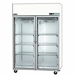 Freezer, Low Temp, 48 Cu. Ft, Glass Door