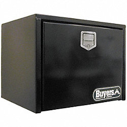 Underbody Truck Box, 24Wx18 Dx18 In H, Blk