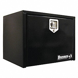 Underbody Truck Box, 24Wx24 Dx24 In H, Blk