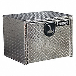 Truck Box, 30 Wx18 Dx18 In H, Silver