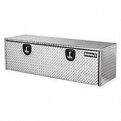 Truck Box, 48 Wx24 Dx24 In H, Silver