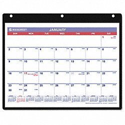Desk/Wall Calendar, Monthly, 11 x 8-1/4 In
