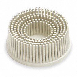 Tapered Bristle Disc, 3 In Dia, 120G
