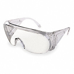 Safety Glasses, Clear, Uncoated
