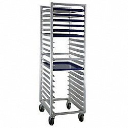 Full Bun Pan Rack, End Load, 20 Capacity