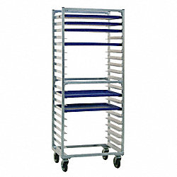 Full Bun Pan Rack, Side Load, 20 Capacity