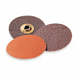 Locking Disc, AlO, 1in, 120 Grit, Fin, TR