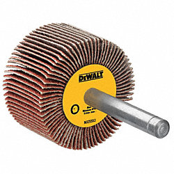 Flap Wheel, Interleaf, AO, 2x1x1/4 Shk, 100G